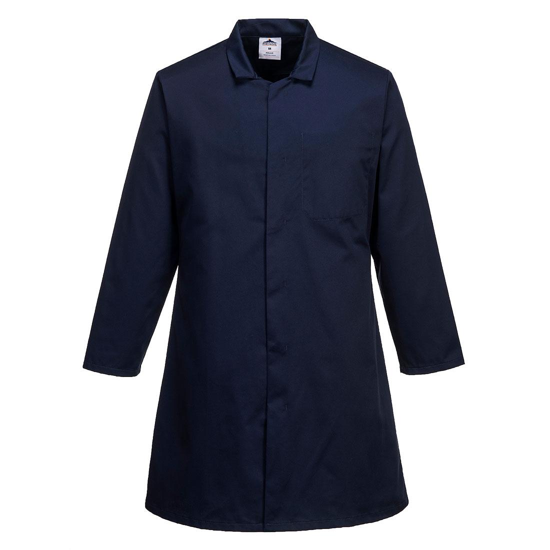 Mens Food Coat One Pocket Navy LR