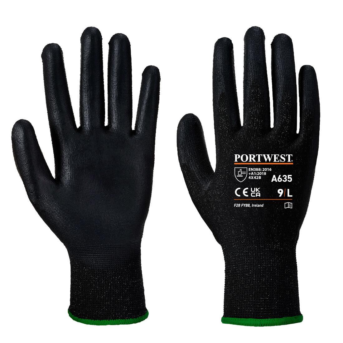 Eco-Cut Glove Black SR