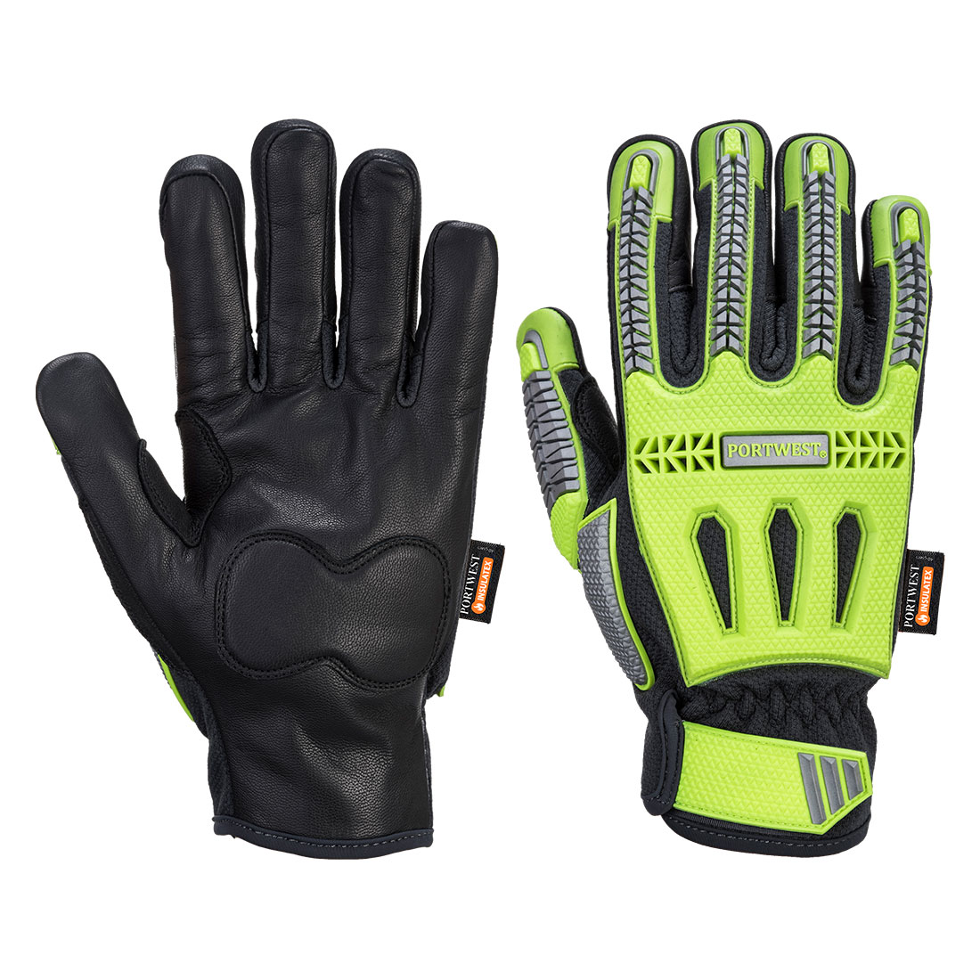 R3 Impact Winter Glove Yellow/Black XLR