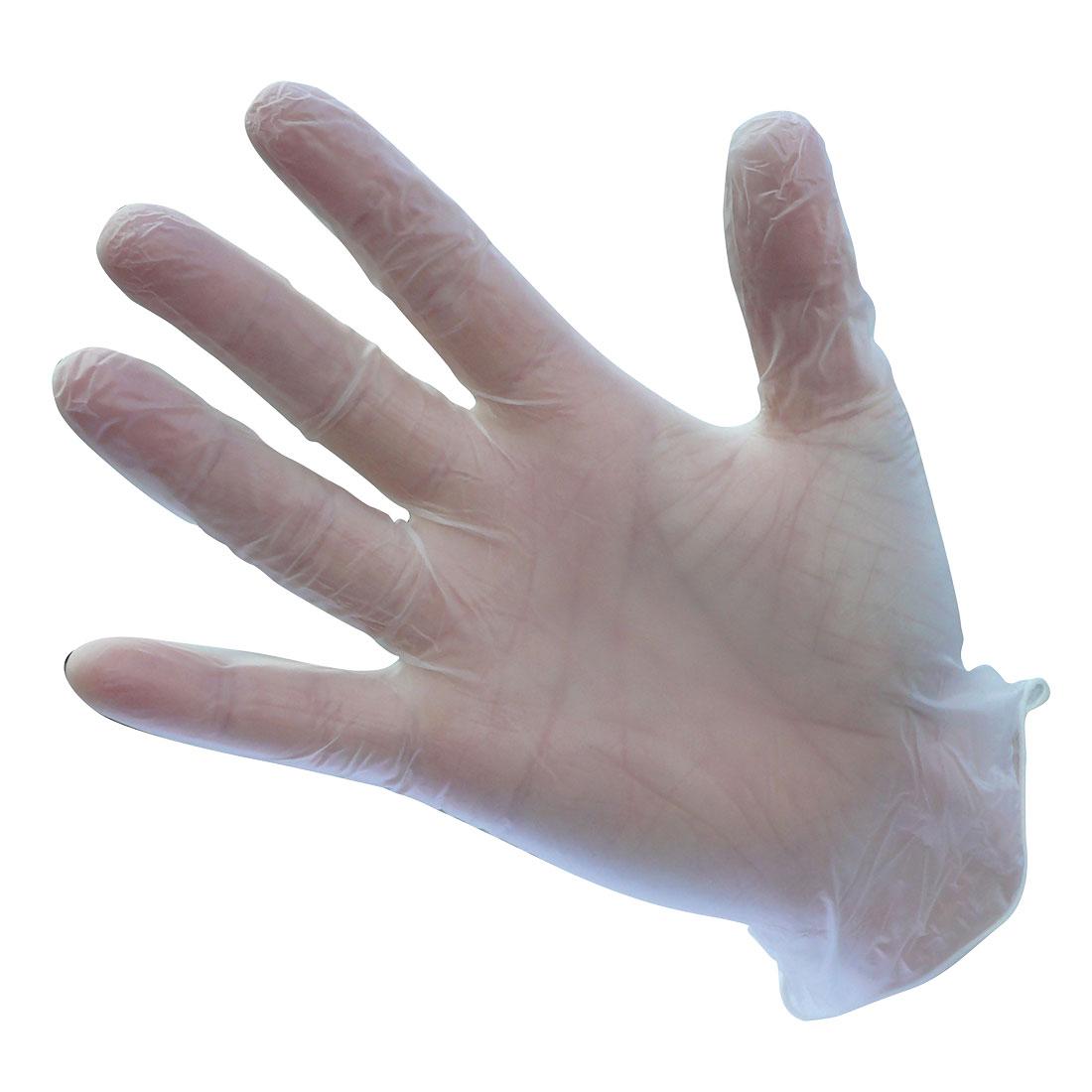 Vinyl Gloves Powdered (Pk100) Clear LR