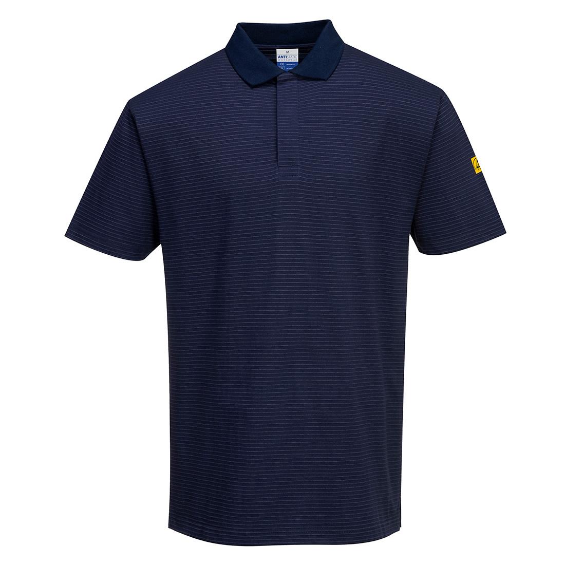 Antistatic ESD Polo Shirt Navy XXLR