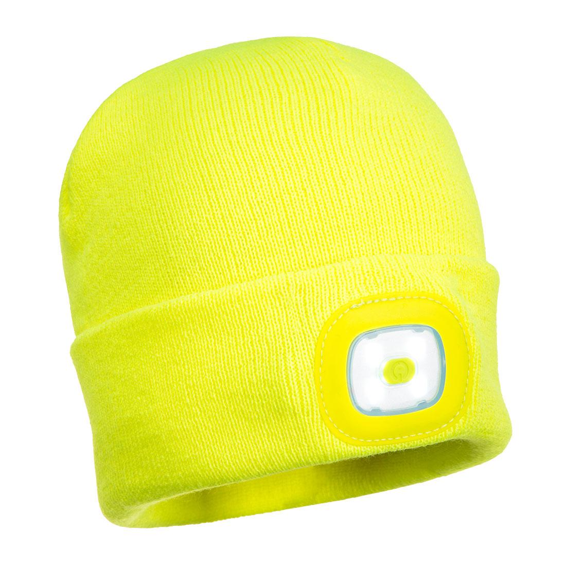 Junior Beanie LED Headlight Yellow