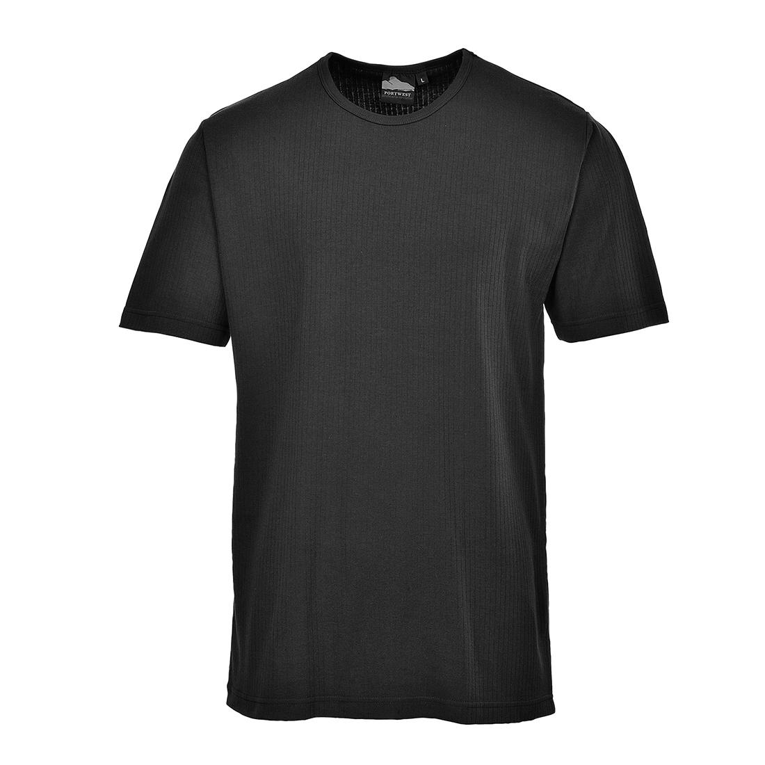 Thermal T-Shirt S/S Black SR