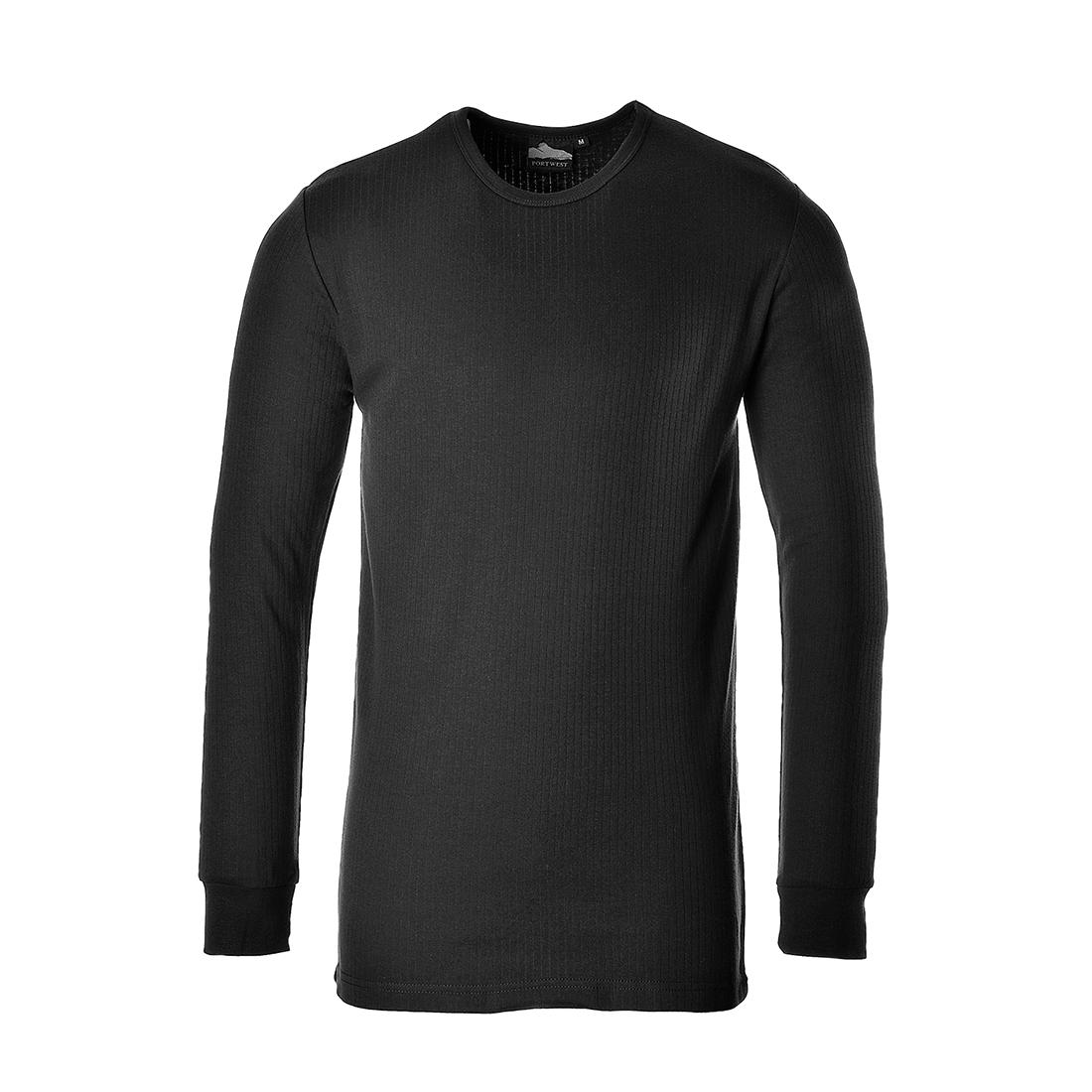 Thermal T-Shirt L/Slv Black XLR