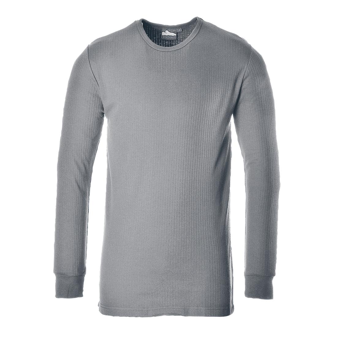 Thermal T-Shirt L/Slv Grey MR