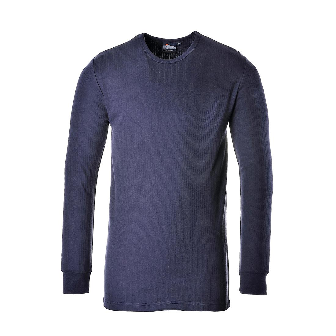 Thermal T-Shirt L/Slv Navy XLR