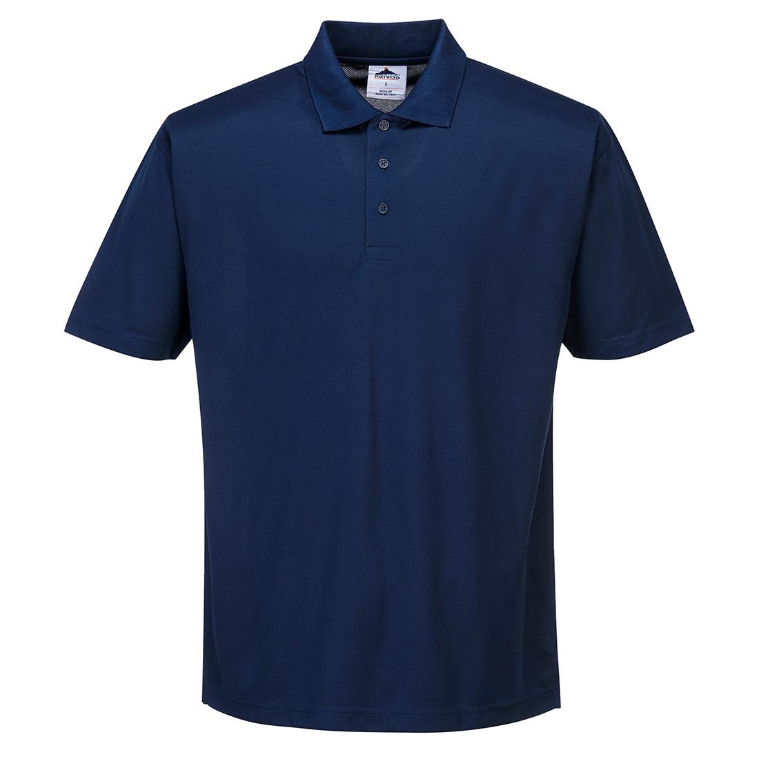 Polyester Polo Shirt Navy MR