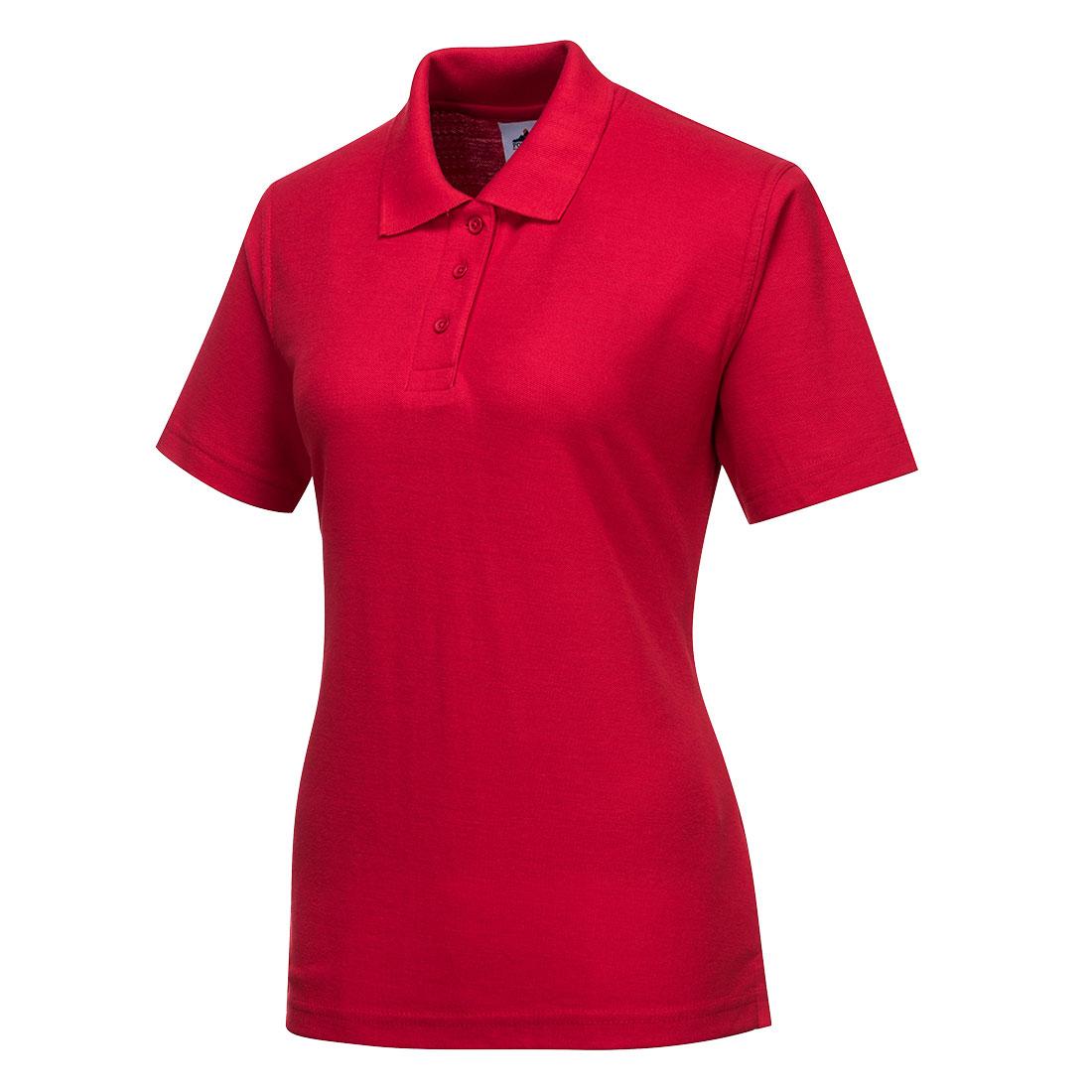 Ladies Polo Shirt Red SR
