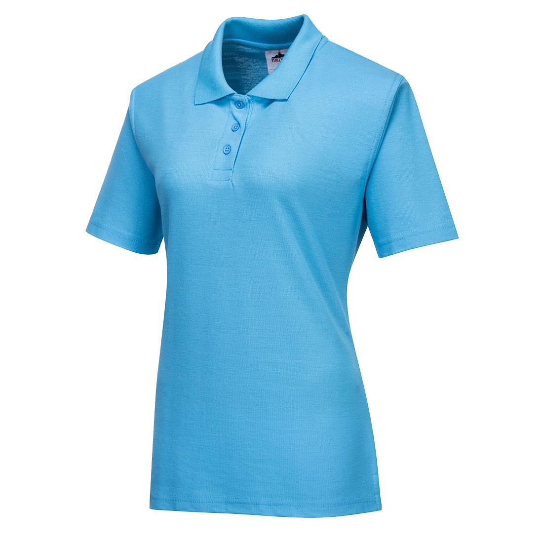 Ladies Polo Shirt Sky MR