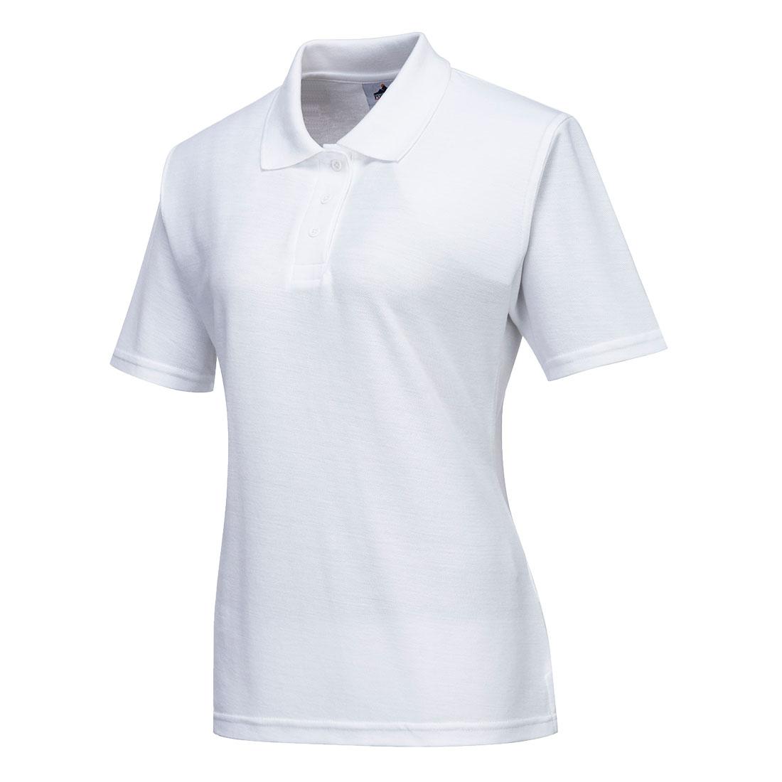 Ladies Polo Shirt White SR