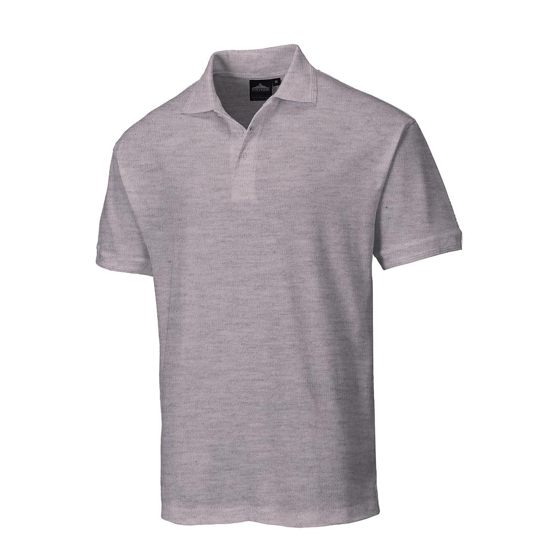 Naples Polo Shirt Heather XXXLR