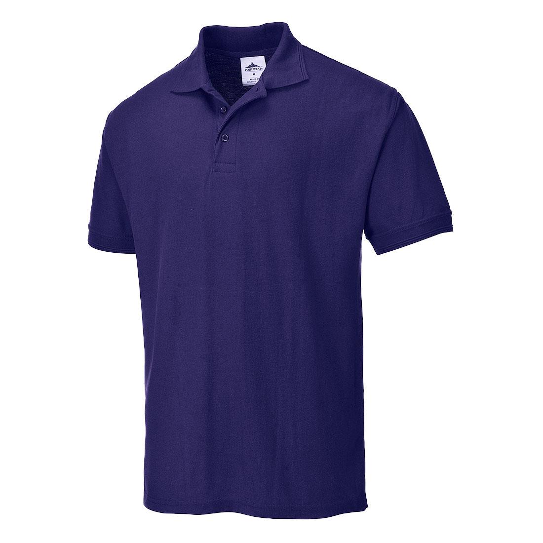 Naples Polo Shirt Purple XLR