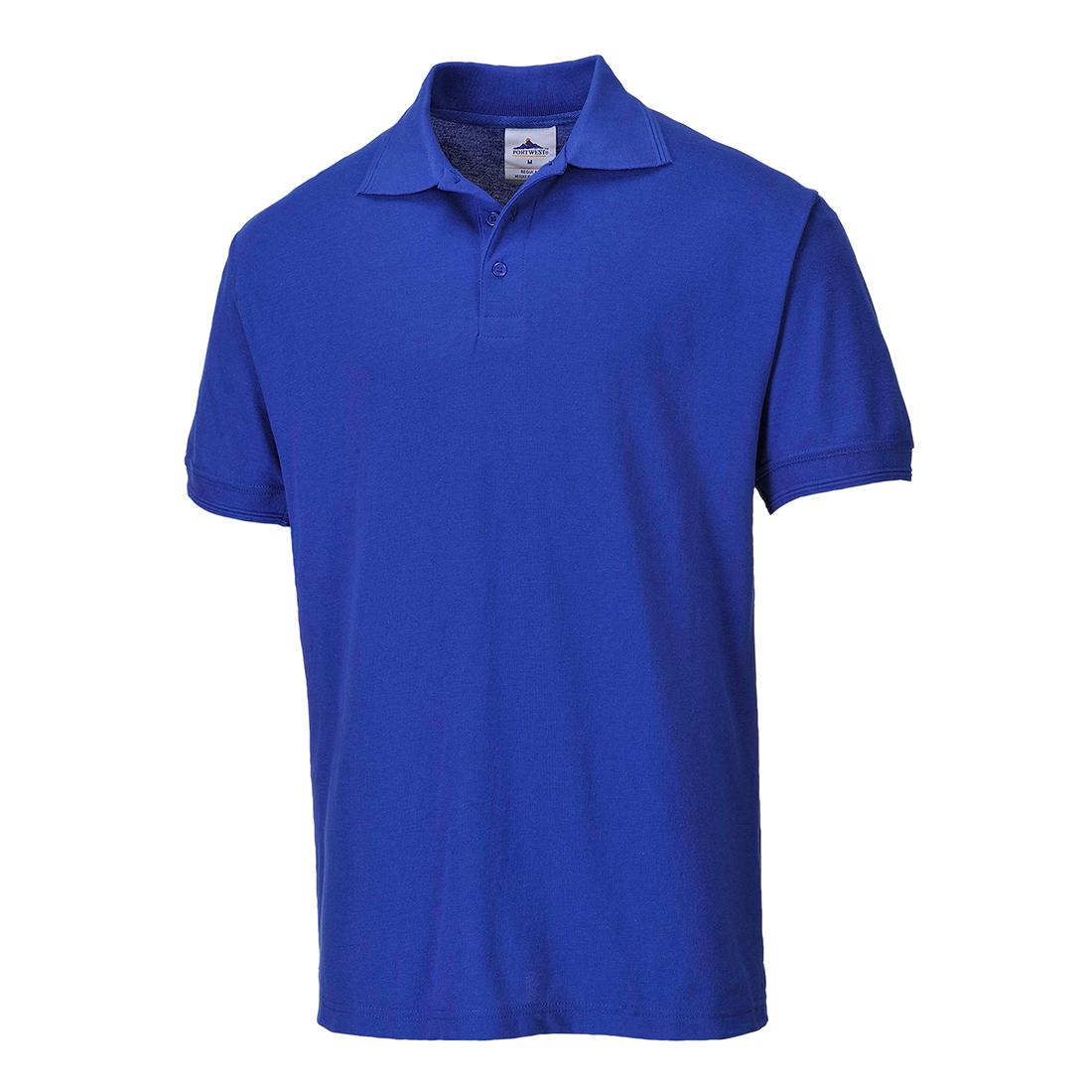 Naples Polo Shirt Royal Blue SR