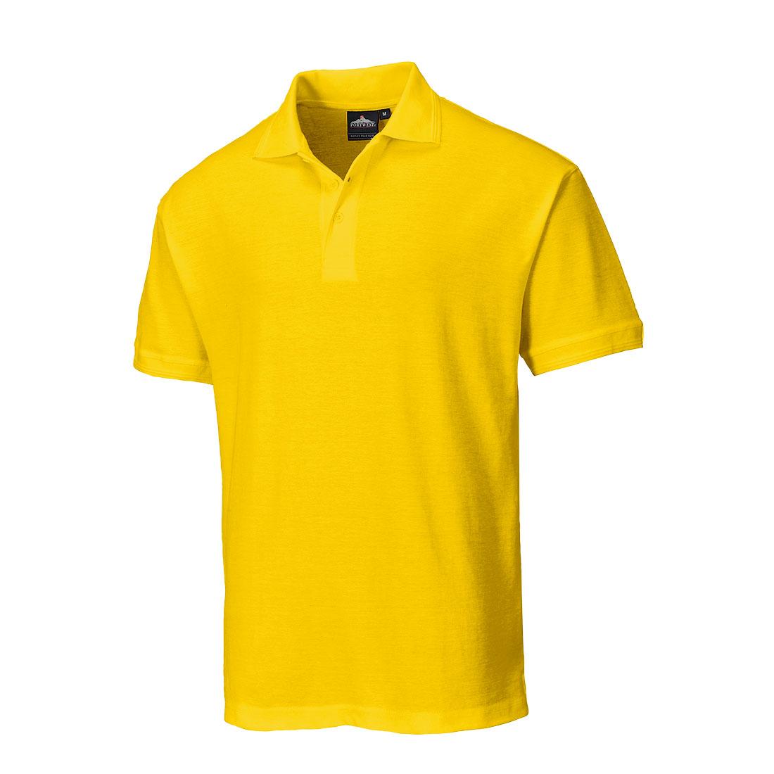 Naples Polo Shirt Yellow MR