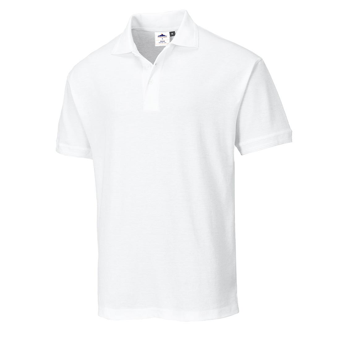 Verona Cotton Polo White MR