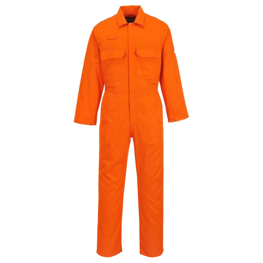 BizWeld Boilersuit Orange XXLT