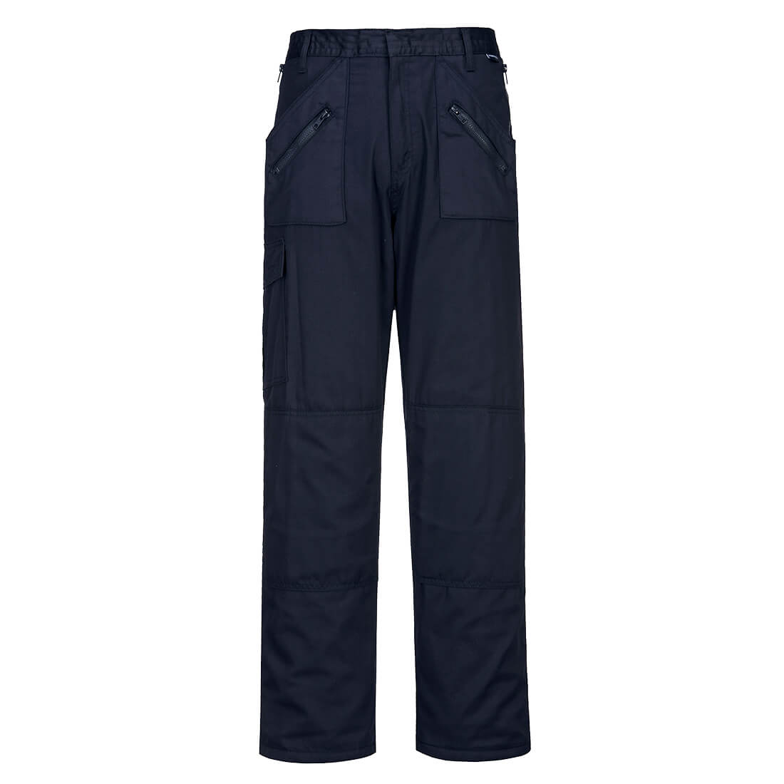 Lined Action Trousers Navy LR