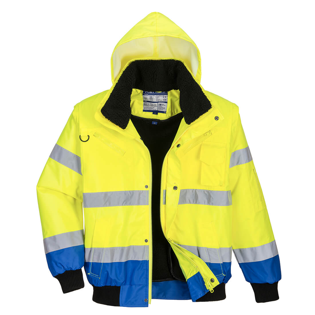 3in1 Bomber Jacket 3:2 Yellow/Royal L