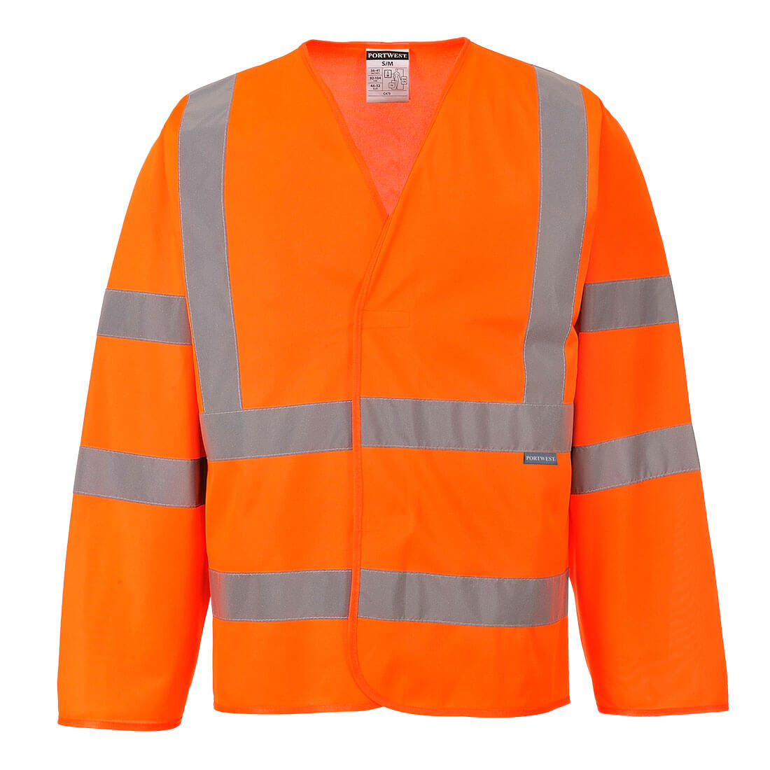 Hi-Vis 2 Band Jacket Orange XX/3XR