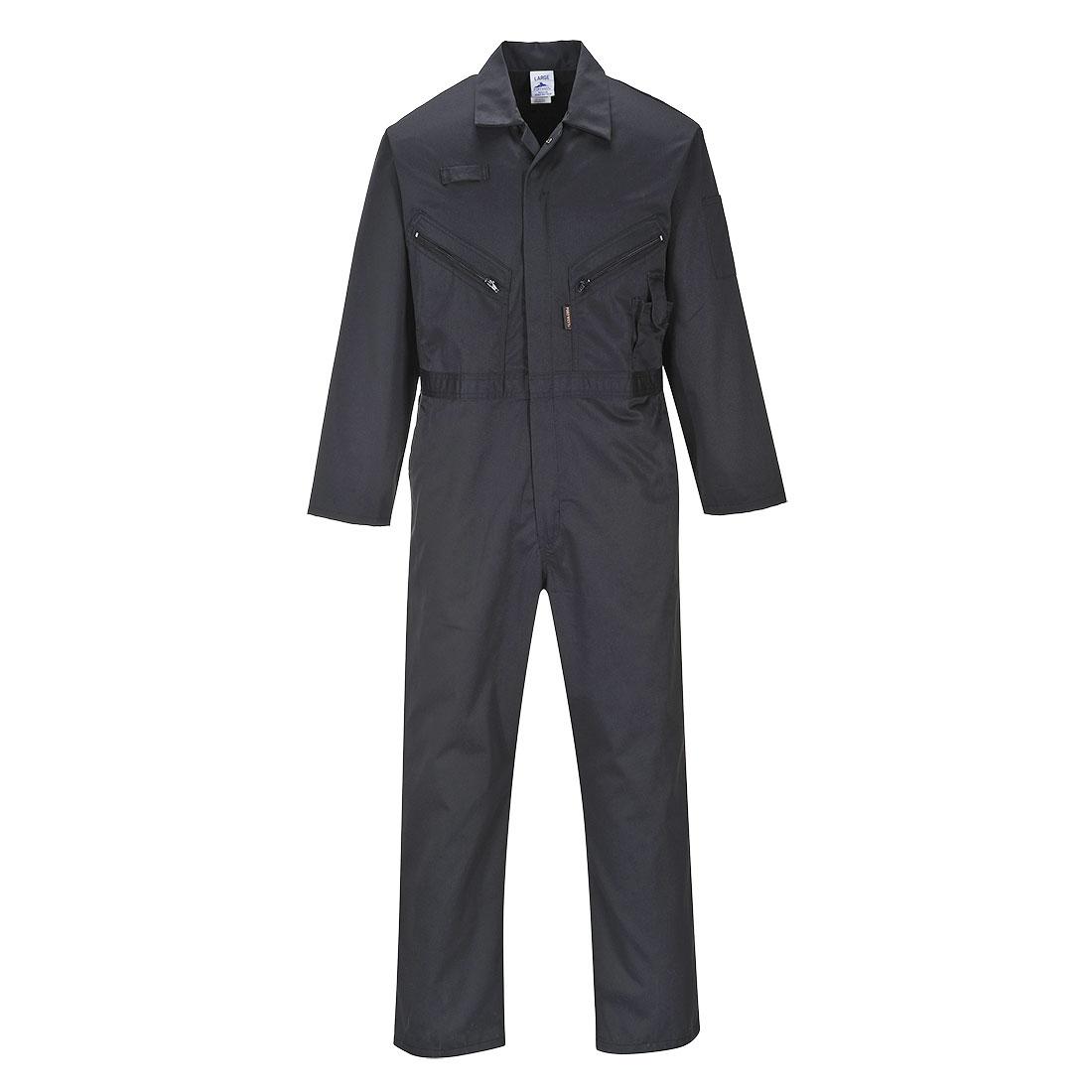 Zip Boilersuit Black LR