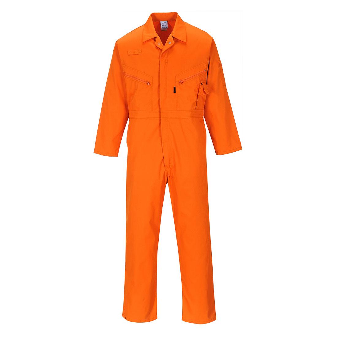 Zip Boilersuit Orange MR