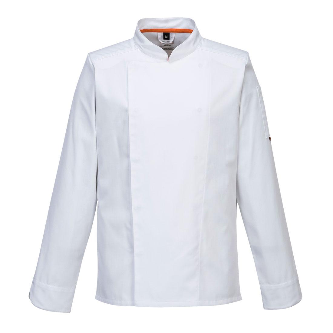 MeshAir Pro Jacket  L/S White MR