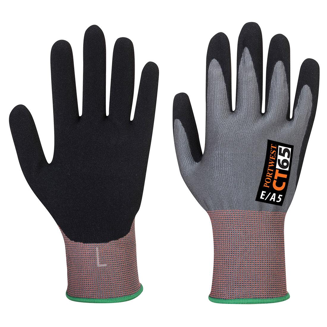 VHR Nitrile Foam Grey/Black XLR