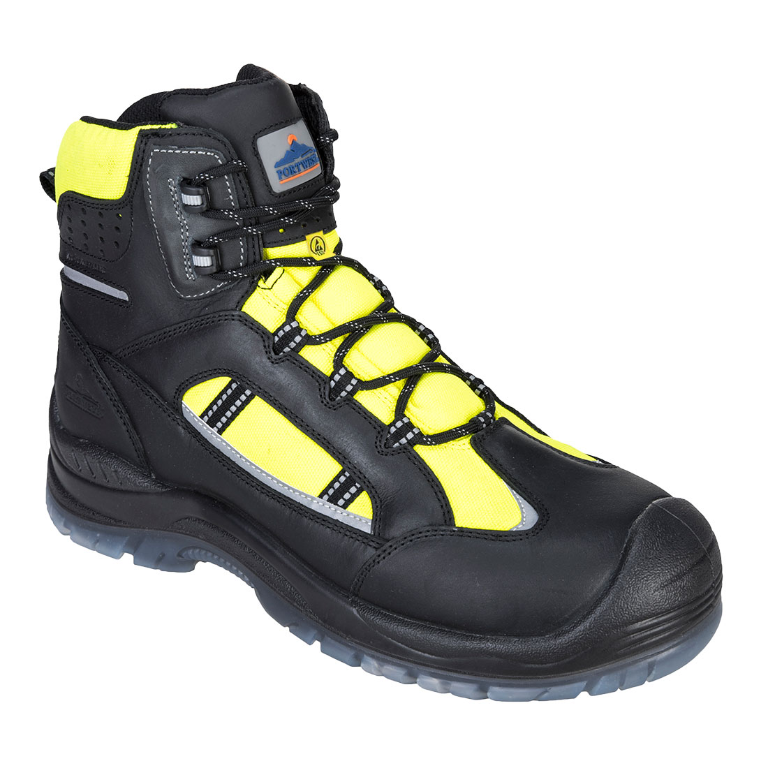 Retroglo Hi-Vis Boot  S3 Yellow 41