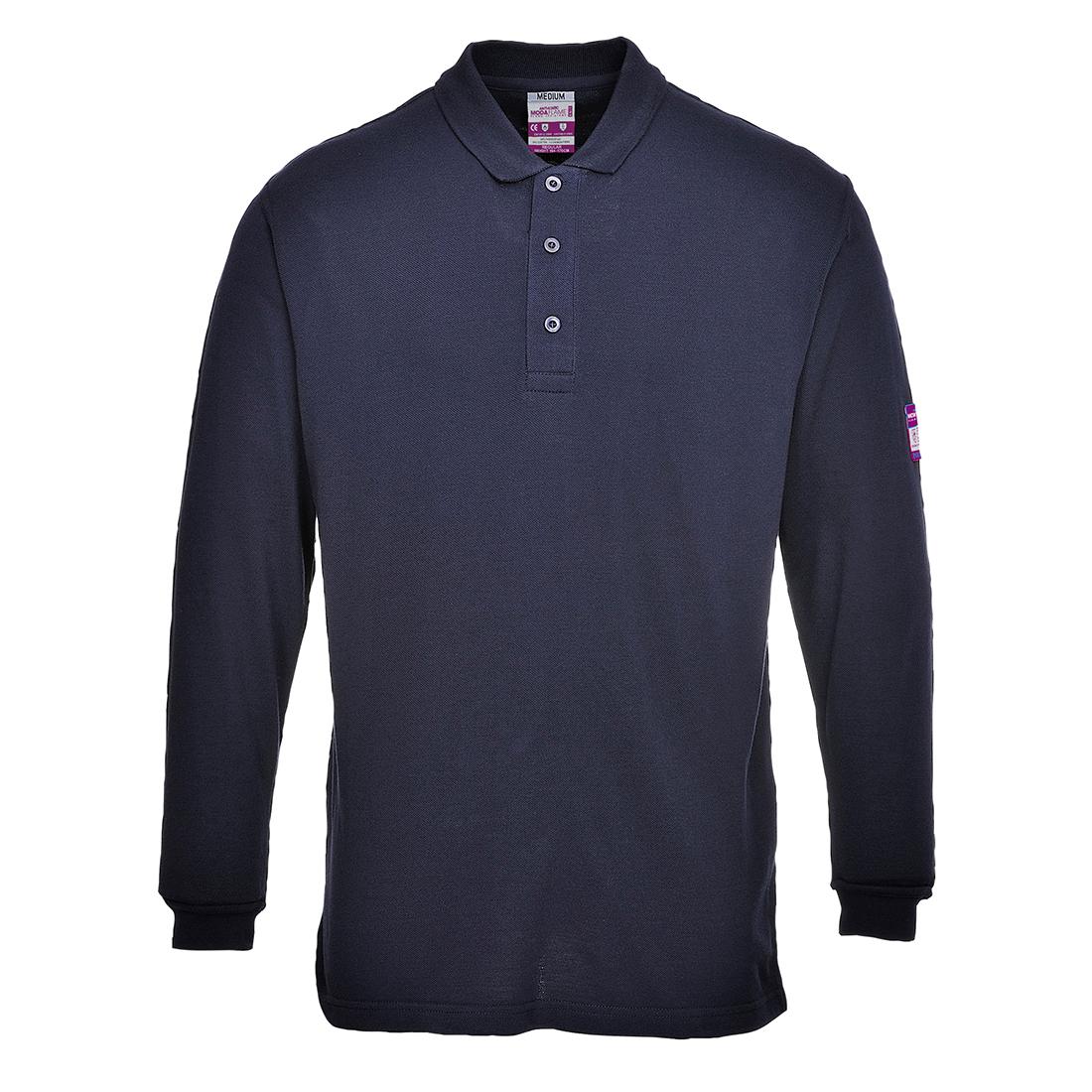 FR Antistatic Polo Shirt Navy XL