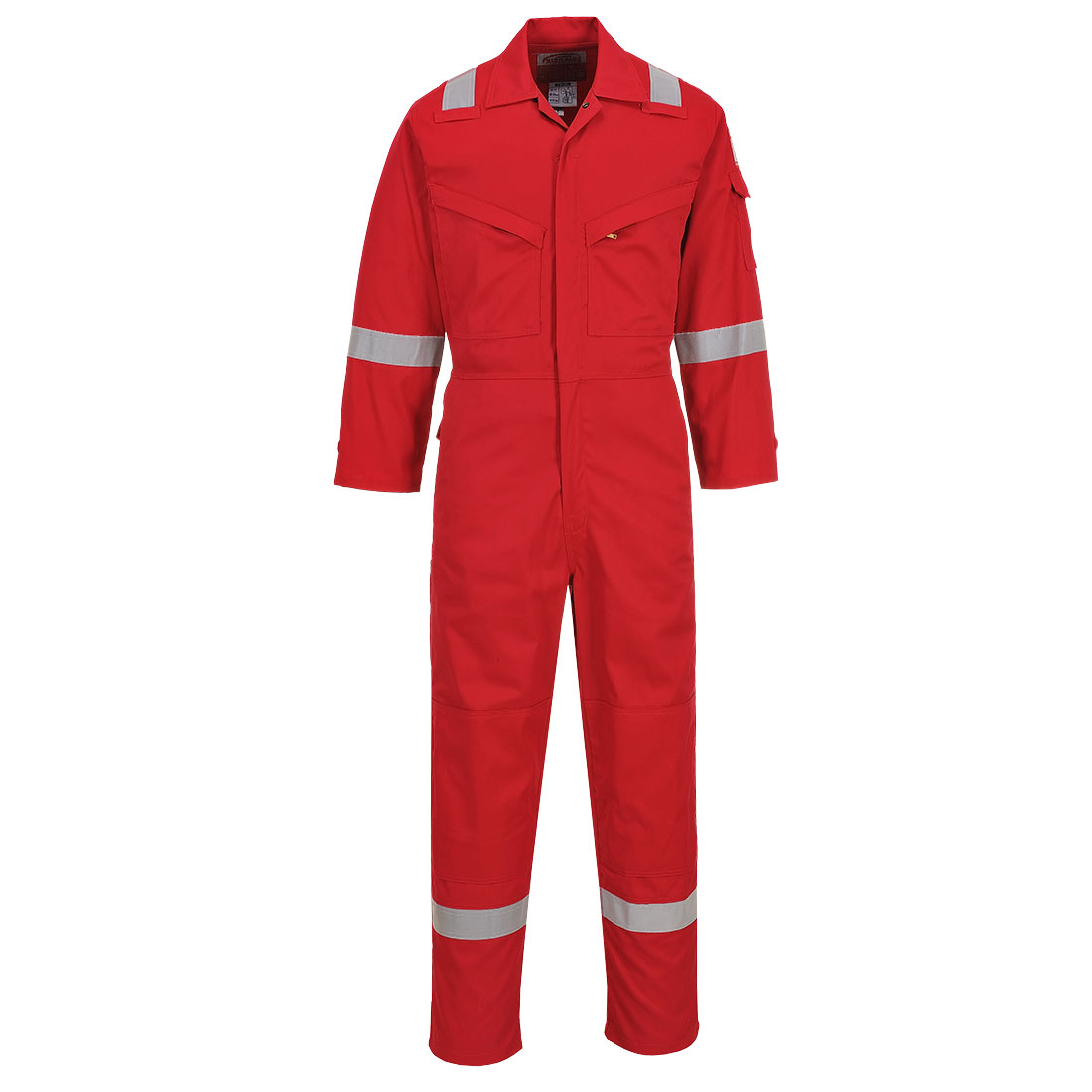 Lightweight AS Coverall Red M