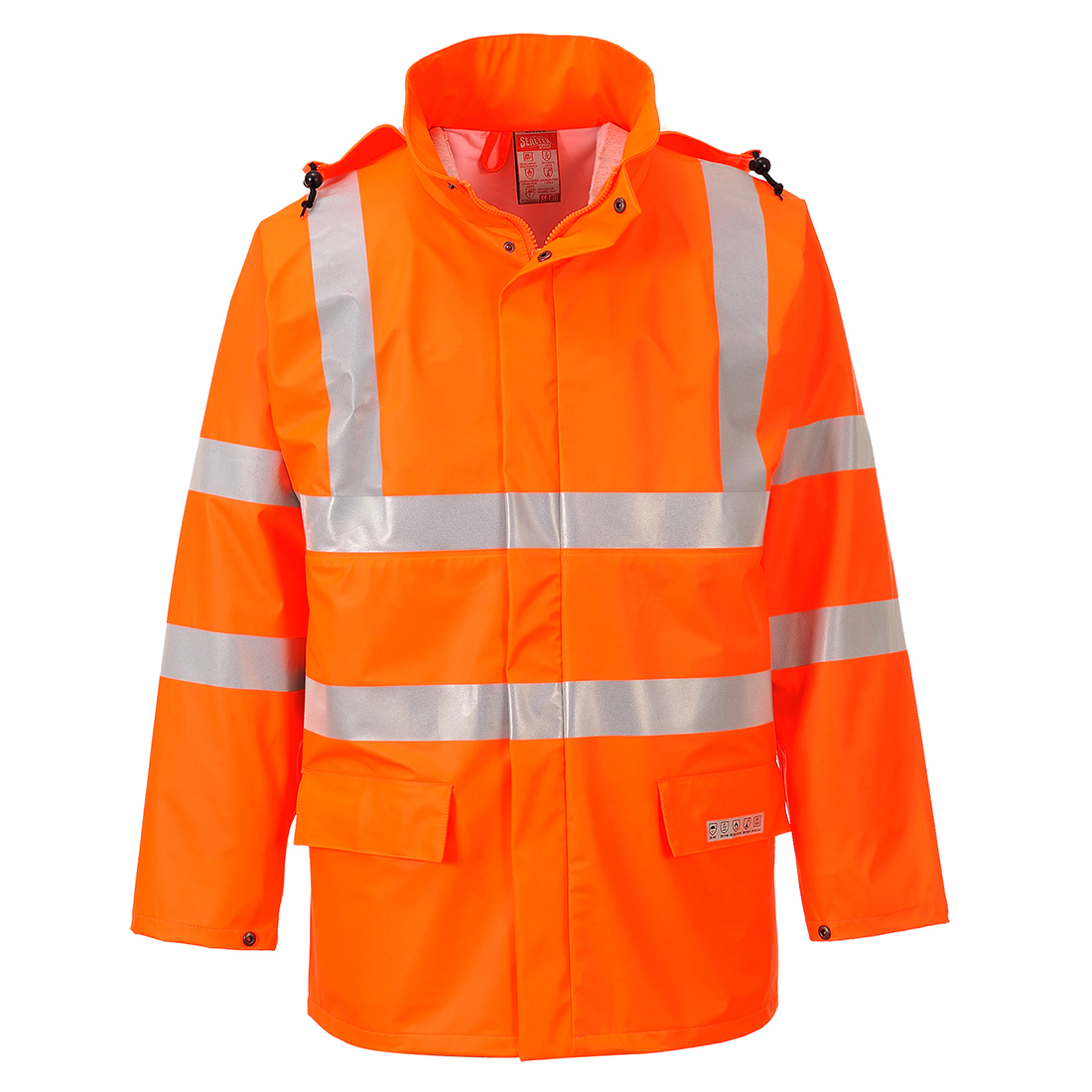 Sealtex Flame Hi-Vis Jacket Orange L
