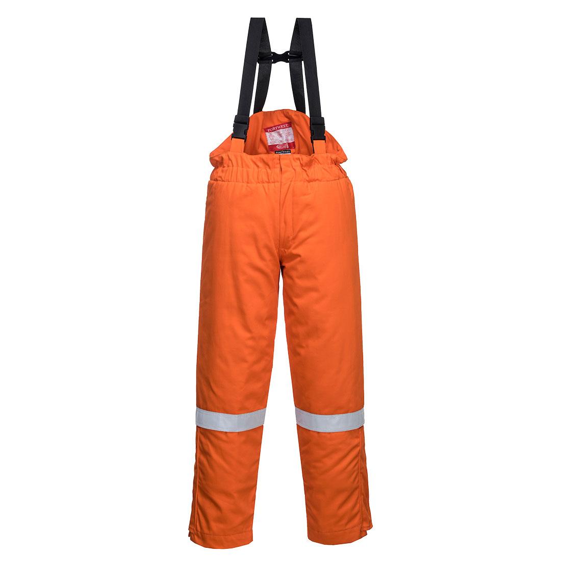 FR Winter Bib & Brace Orange XXL