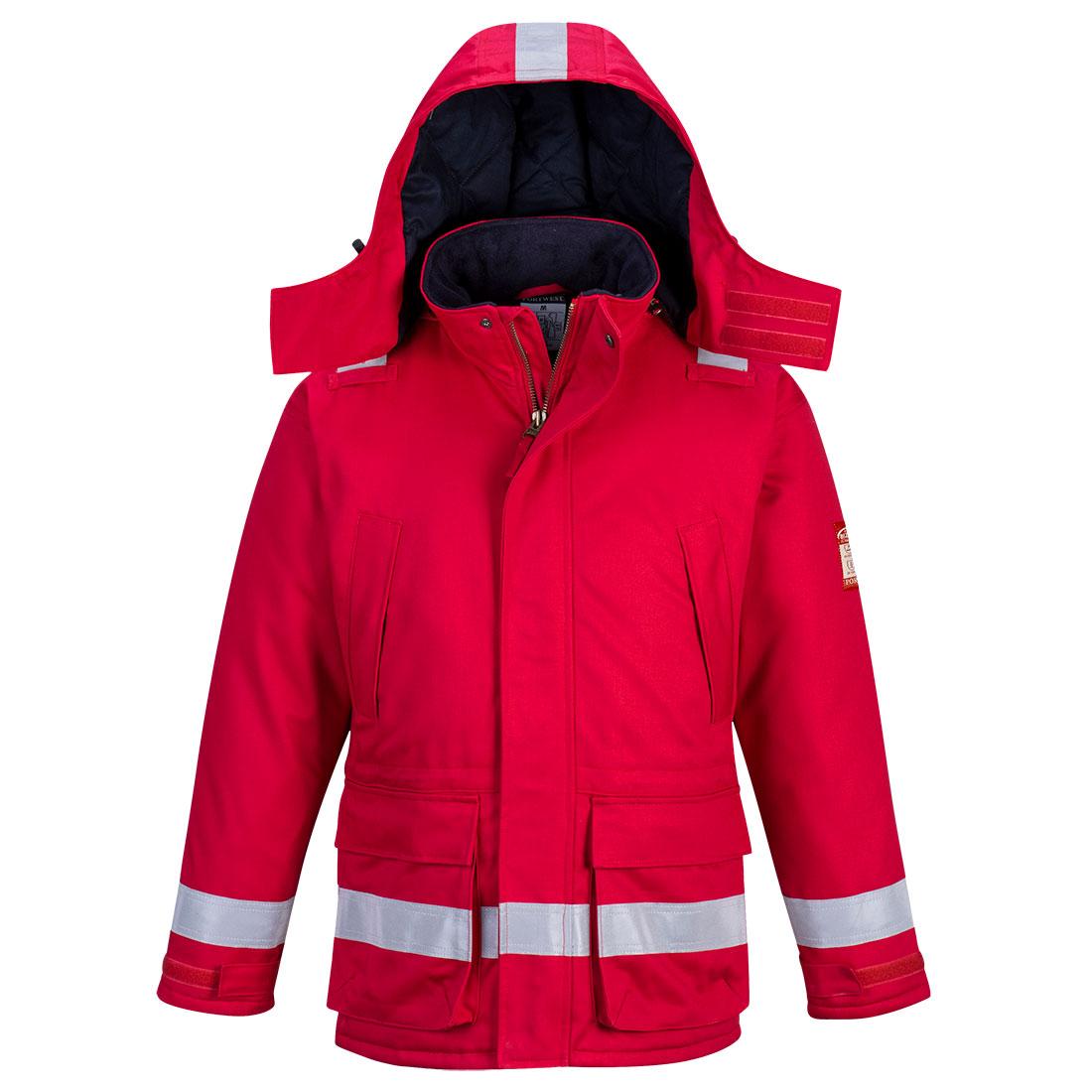 FR Winter Jacket Red L