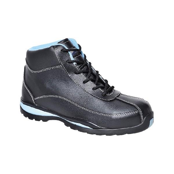 Ladies Safety Boot 42/8 Black 42