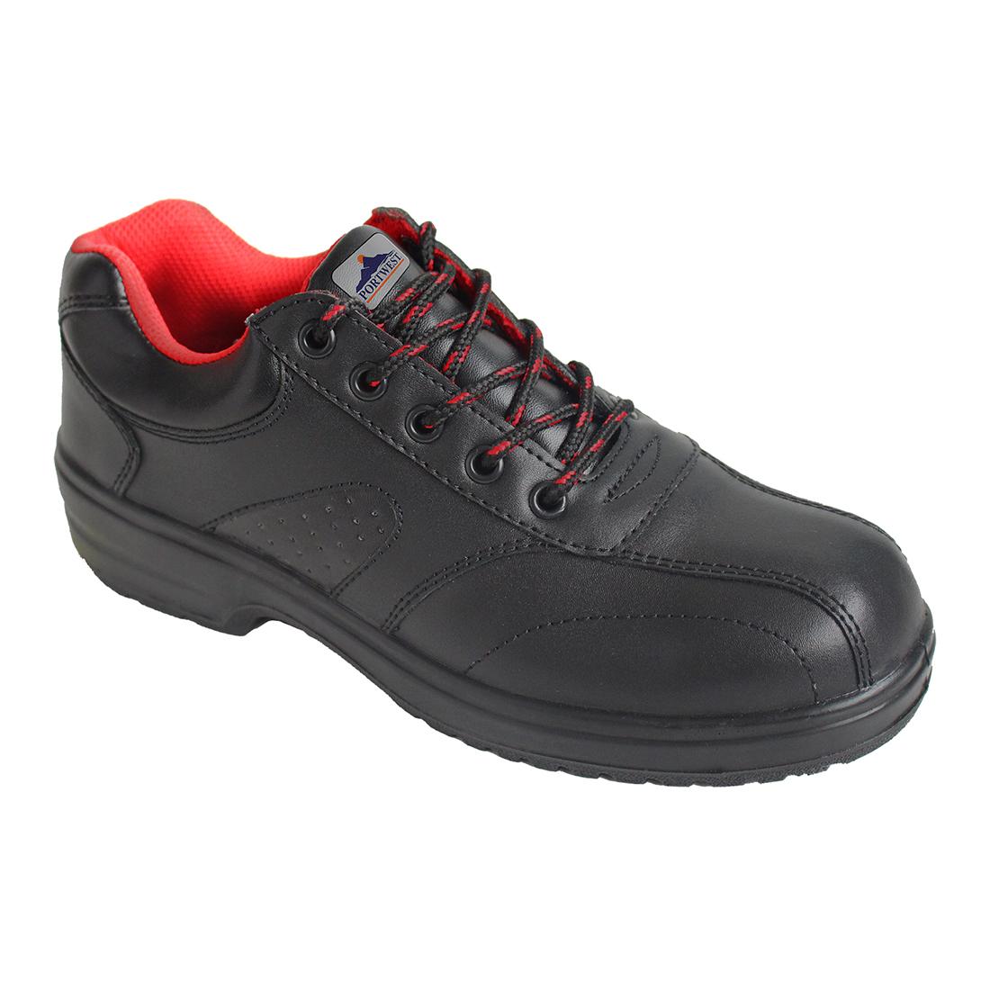 Ladies Safety Shoe 41/7 Black 41