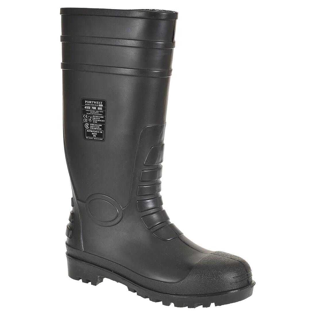 Safety Wellington  40/6.5 Black 40