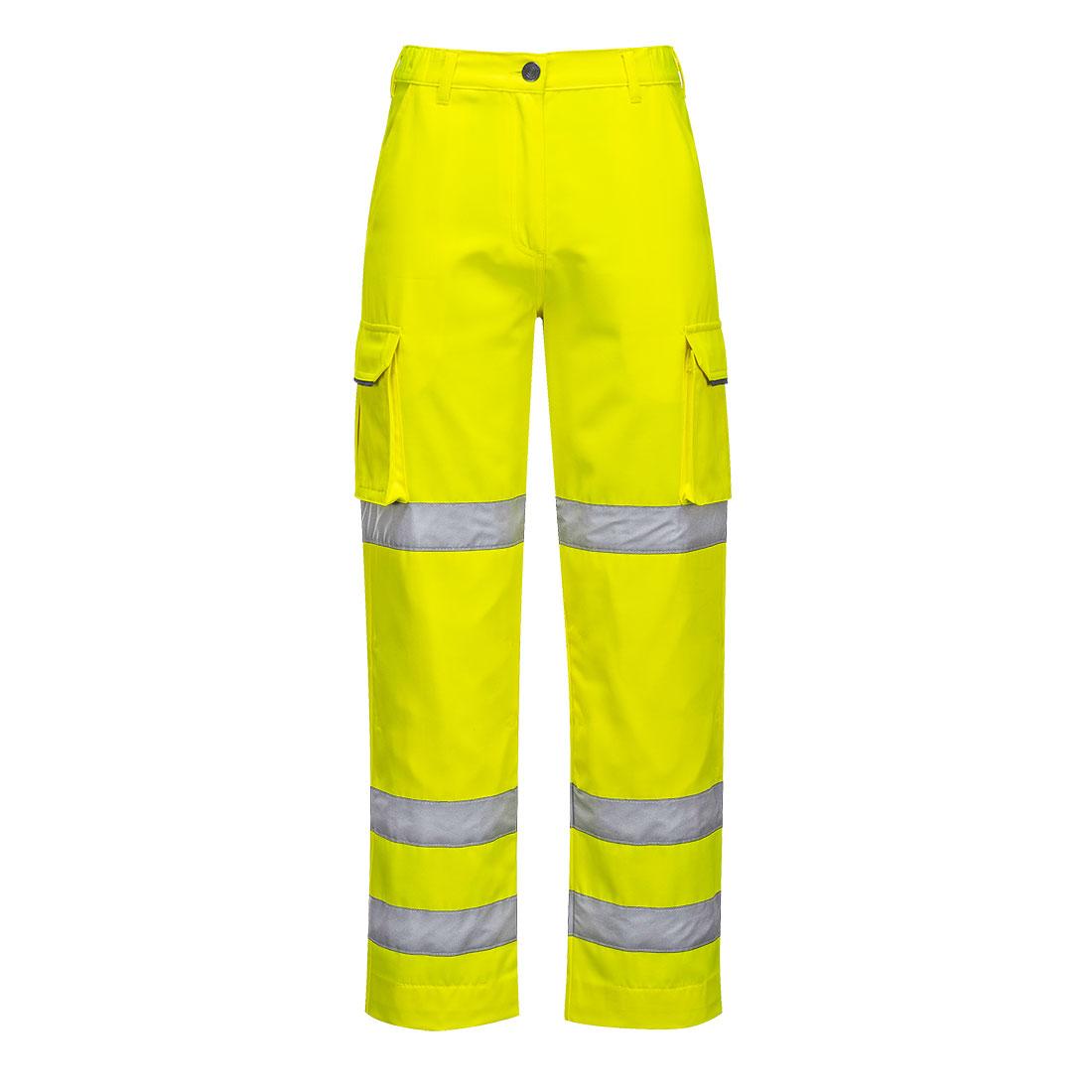 Ladies Hi-Vis Trousers Yellow XXLR