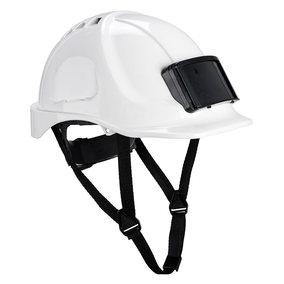 Endurance Badge Holder Helmet White