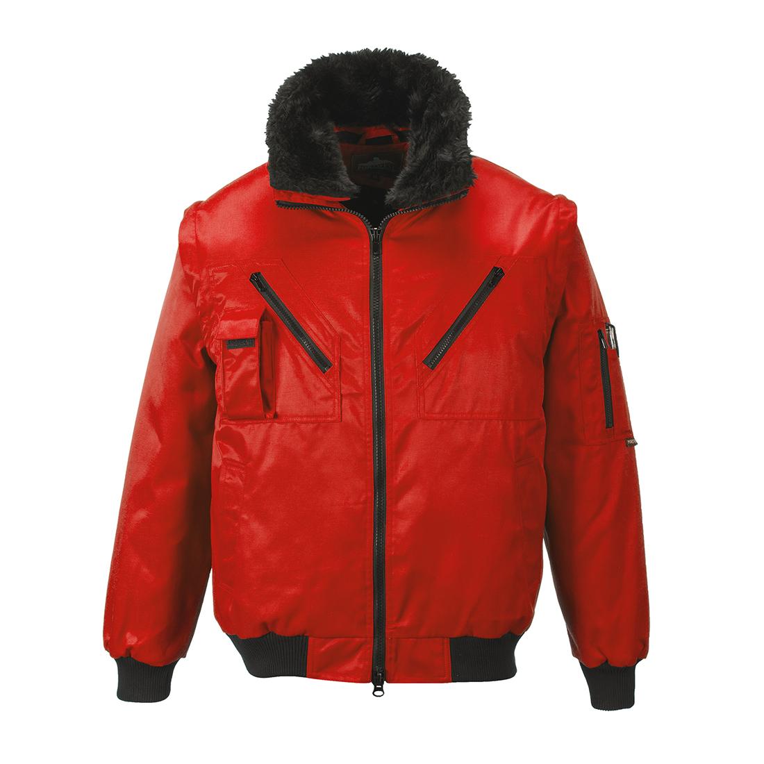 Pilot Jacket Red MR