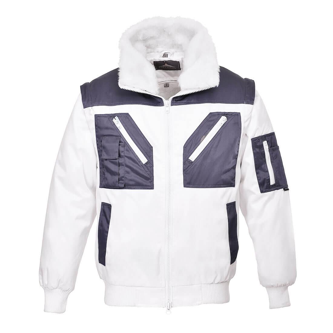 Pilot Jacket 2-Tone White XXXLR