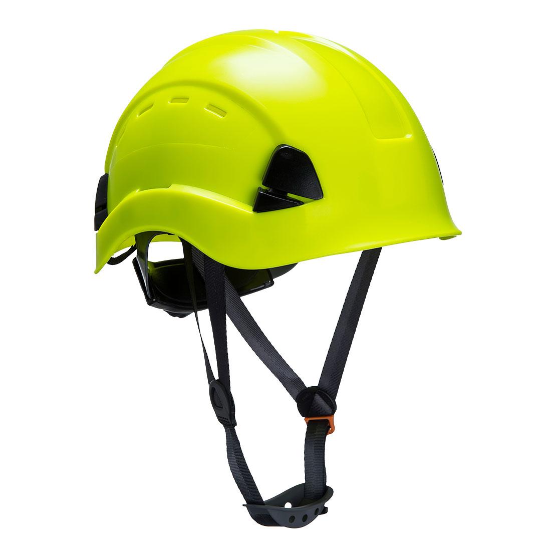 Height Endurance Vented Helmet Yellow