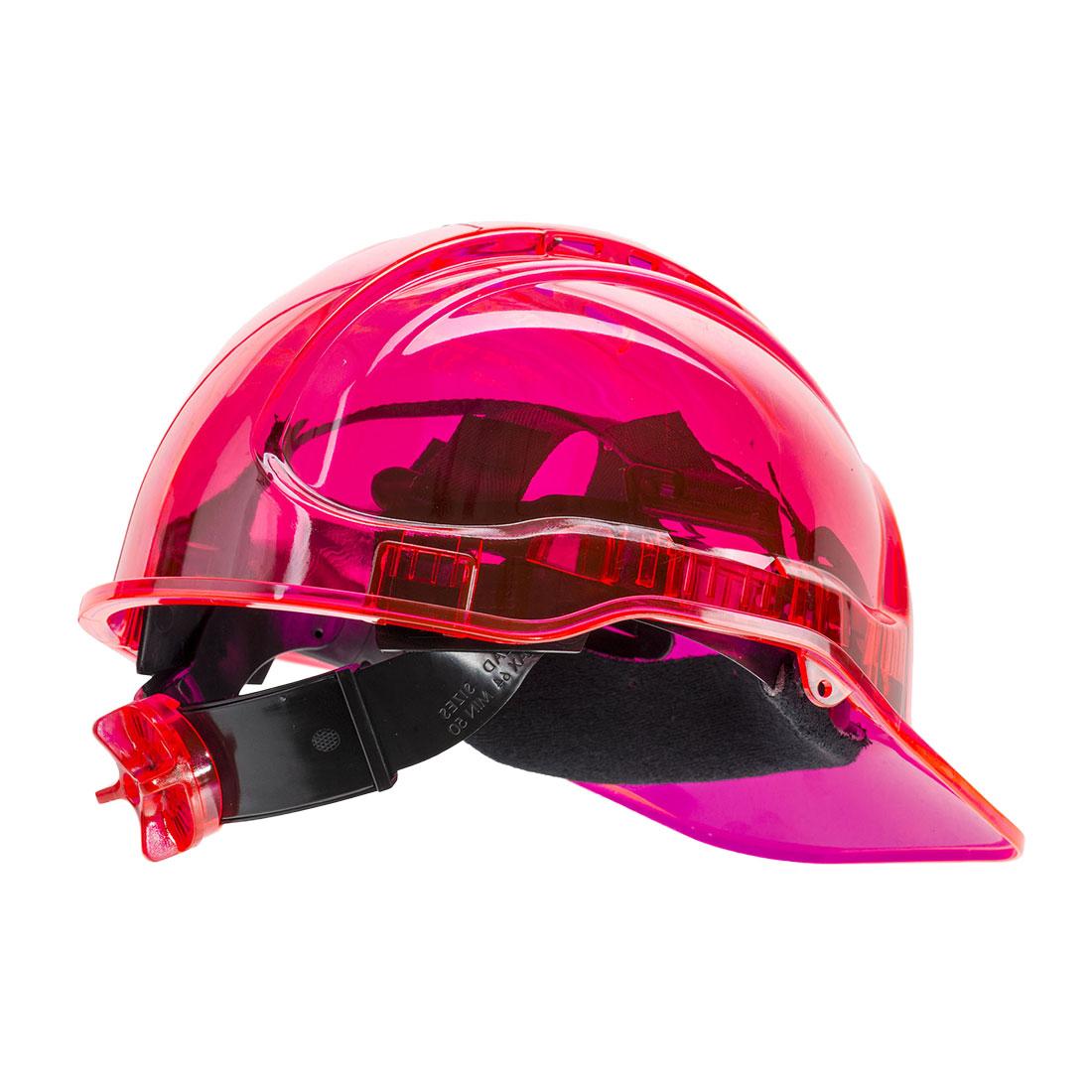 Peak View Ratchet Vent Helmet Pink