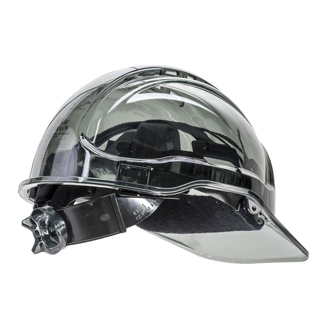 Peak View Ratchet Vent Helmet Smoke