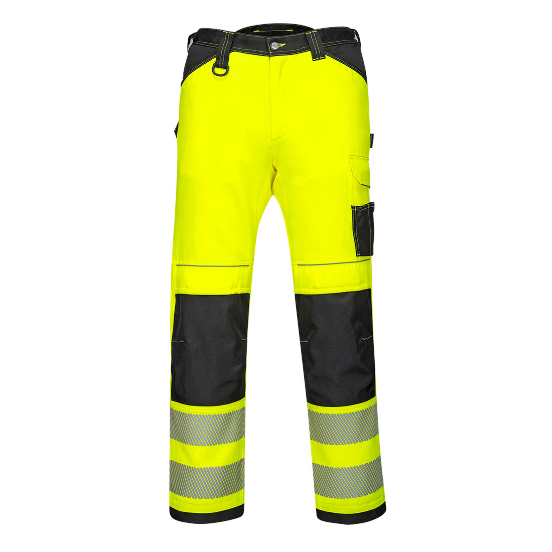 PW3 Hi-Vis Work Trousers Yellow/Black 34S