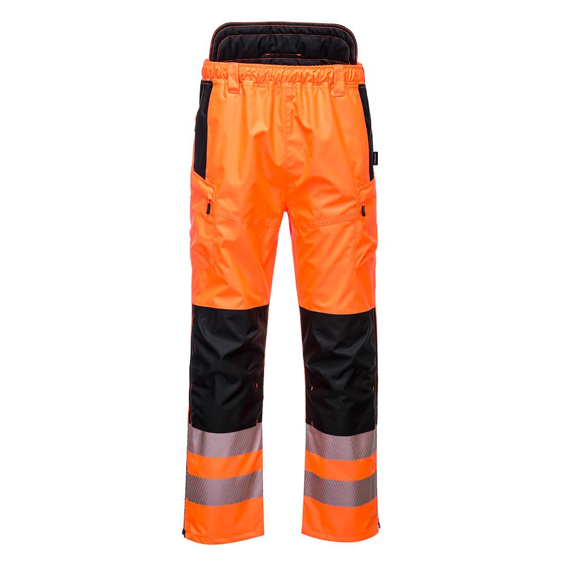 PW3 Hi-Vis Extreme Trousers Orange/Black XLR