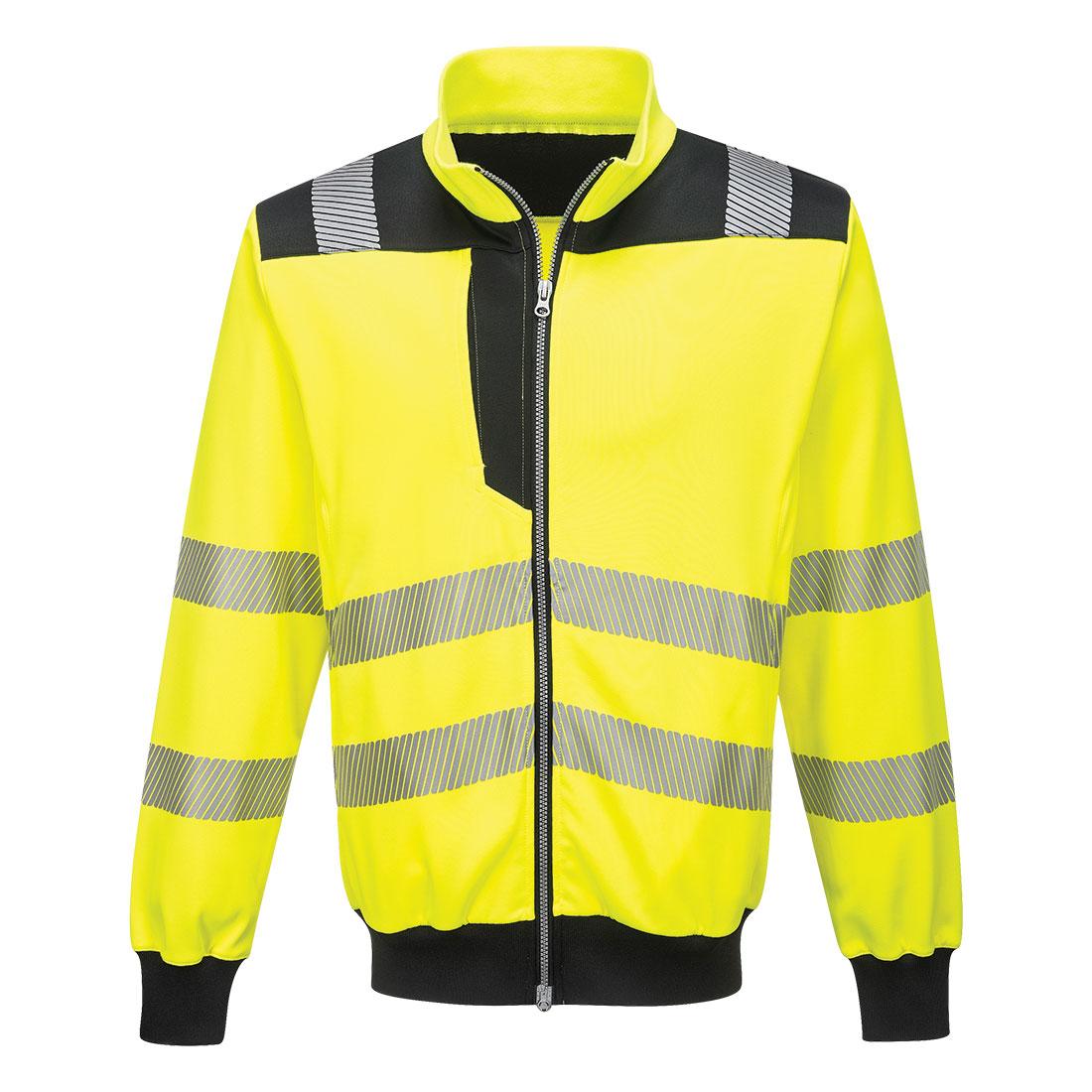 PW3 Hi-Vis Sweatshirt Yellow/Black XXXLR