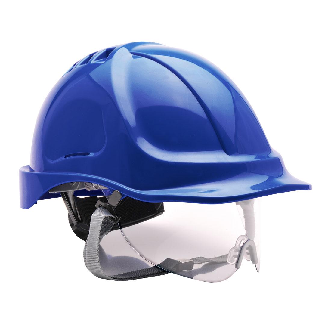 Endurance Spec Visor Helmet Royal Blue