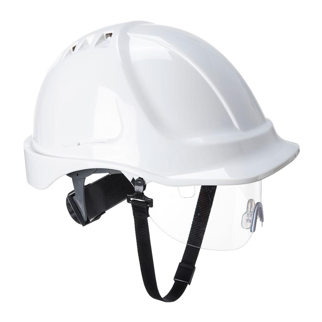 Endurance Spec Visor Helmet White
