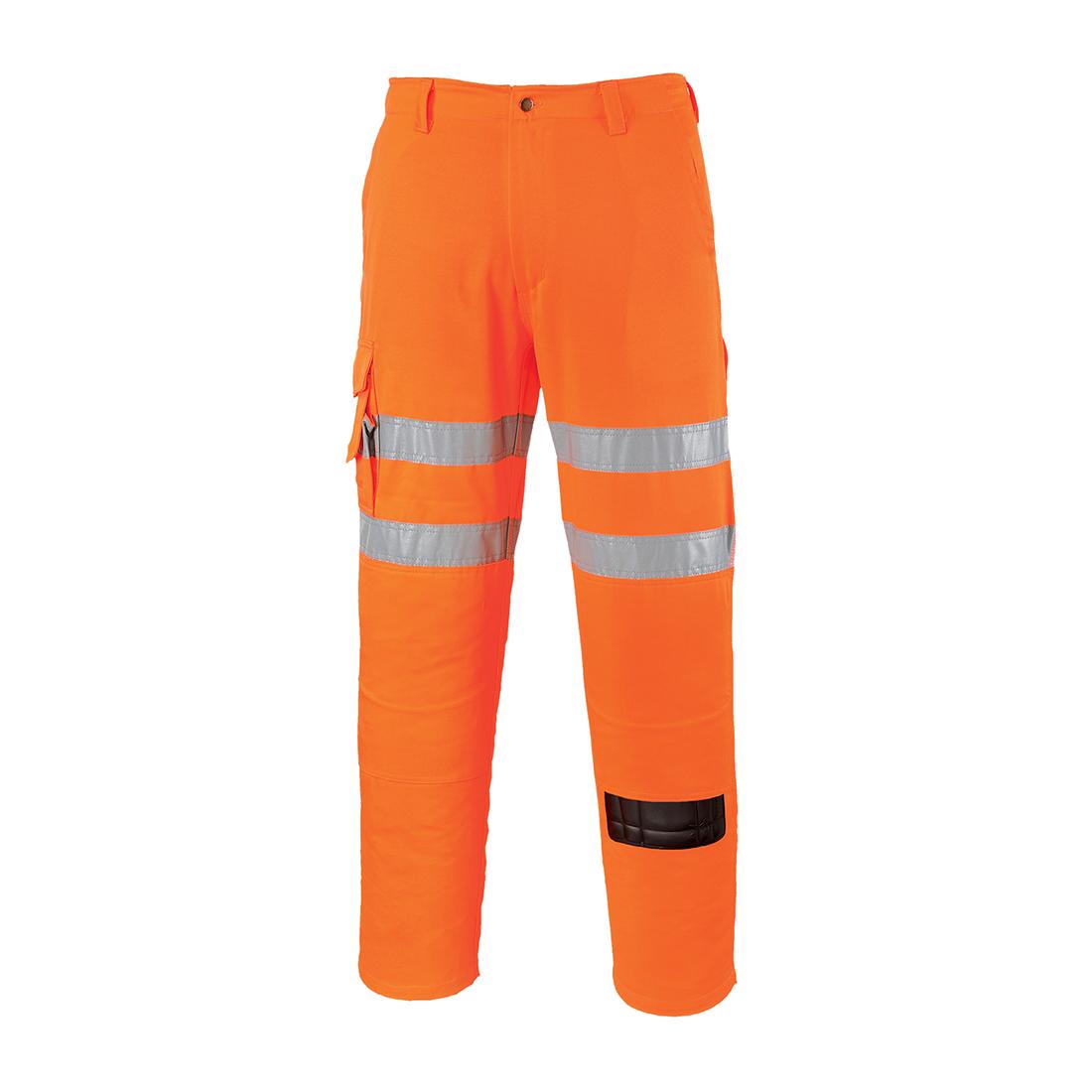 Hi-Vis Combat Trousers RIS Orange ST