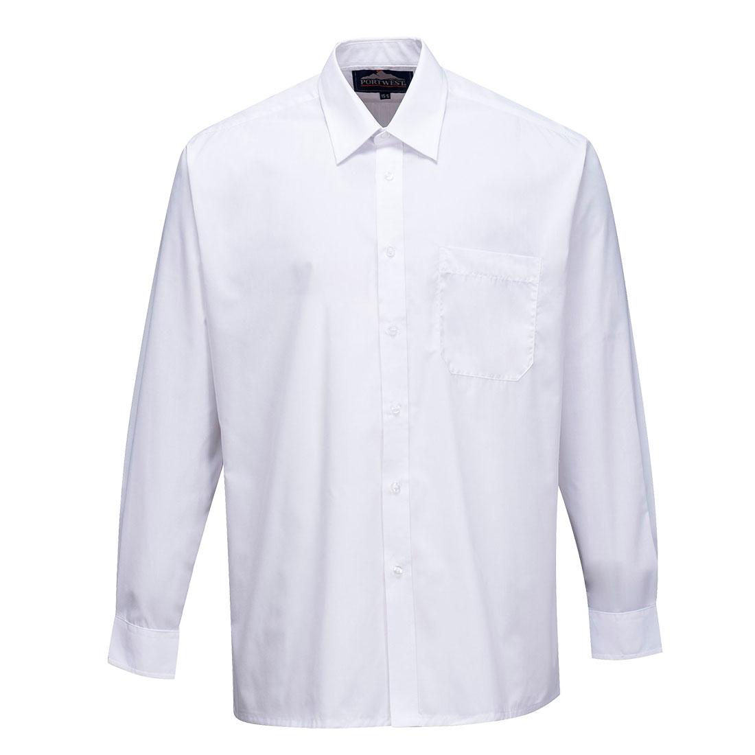 Classic Shirt Long Slv. White 190R